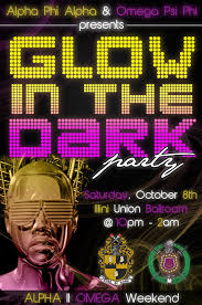 glow flyer glow in the dark party flyer by autumnsayshello on deviantart