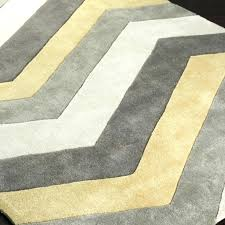 fresh yellow and gray rugs and chevron area rug yellow and gray chevron rug home decor