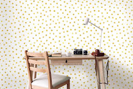 Self Adhesive Removable Wallpaper Gold ...