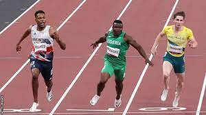 One hundred and thirteen years later akani simbine is being touted to break the tape first in tokyo. Cgkjqpoezxa3om