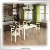 <b>Обеденная группа</b> для кухни с <b>раскладным</b> столом Дижон-2 - Мир ...