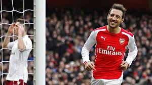 Image result for Arsenal midfielder, Santi Cazorla is picture