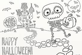 Halloween Coloring Pages For 3 Year Olds Free Printable Halloween