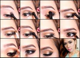 using simple colors and a makeup brush you can cast this look at home and get ready for any party
