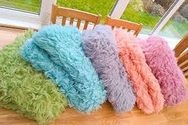 coloured flokati uk
