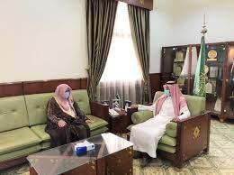 محافظ الخرج يلتقي بمدير إدارة المساجد والدعوة والإرشاد المكلف - الخرج اليوم