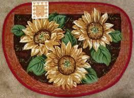 image of sunflower kitchen rugs kitchen design sunflower kitchen rug