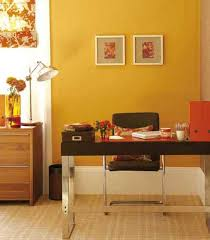 Image Small Personal Office Lushome 30 Office Design Ideas Bringing Optimism With Orange Color