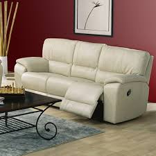Shields Leather Reclining Sofa