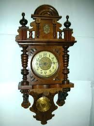 wood wall clocks pendulum wooden finish clock keda co