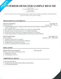 design resume example interior designers resume interior design resume template free