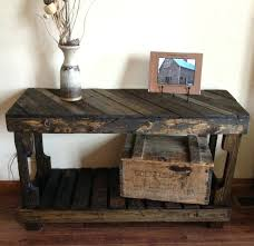 sofa entry table pallet sofa entry table by the rustic entryway console sofa table black finish
