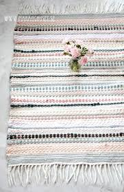 mint pink rug divine a masterpiece vintage rag rug hand woven rug in soft pink colors mint pink rug mint and grey green