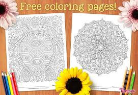 Free printable coloring pages for children that you can print out and color. Free Adult Coloring Pages Detailed Printable Coloring Pages For Grown Ups Art Is Fun