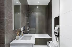 bathroom walk shower. Modern Bathroom Walk In Shower Tub Combo Unique Faucet Porcelain Floor Light Mirror Towel Hanger