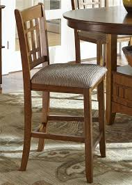santa rosa pub table 3 piece dining set in mission oak finish by liberty furniture 25 pub4260