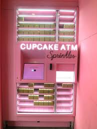 Cupcake Vending Machine Chicago Enchanting Sprinkles Cupcakes Chicago Atm Print Store Deals