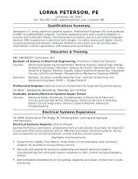Electronic Engineer Resume Sample Engineering Internship Resume