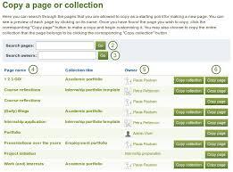 Copy Page 4 1 Pages Mahara 1 5 User Manual