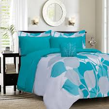 casual teal bedding sets queen
