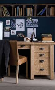 indigo home office. Create An Organised Home Office With The Indigo Oak Grand Draughtsman\u0027s Desk. #woodendesk # M