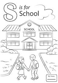 Letter S Coloring Pages Preschool Free Letter S Coloring Pages