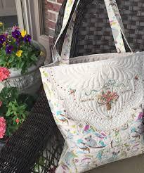 Make a Tote Bag with Vintage Doilies   Kelly Cline Quilting & Make a Tote Bag with Vintage Doilies Adamdwight.com