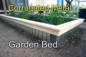 galvanized steel raised beds garden corrugated bed canada g improvements galvanized steel garden bed 3 raised round galvanised beds
