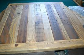 round wooden table tops for awesome reclaimed barn wood table top urban rustic chic biggest round wooden table tops