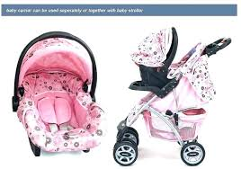 baby car seat and stroller combo for girls trend jogger reviews