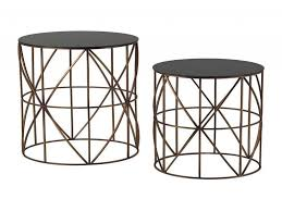 round metal accent tables g accent serene
