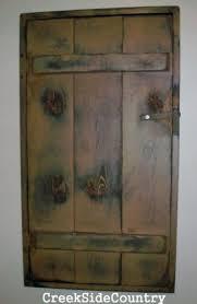 primitive wood circuit breaker fuse box cover cabinet primitive wood circuit breaker fuse box cover cabinet