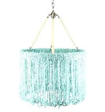 chandeliersturquoise beaded chandelier sham by for wood turquoise beaded chandelier