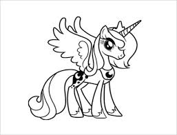18 My Little Pony Coloring Pages Pdf Jpeg Png Free Premium