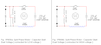 wiring diagram for dual capacitor the wiring diagram 1 phase motor drawings 1 ecn electrical forums wiring diagram