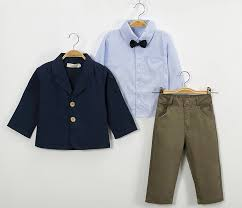 Shirts With Pants Details About 3pcs Boys Clothes Kids Baby Coat Shirt Tops Pants Set Outfits Gentleman Suit