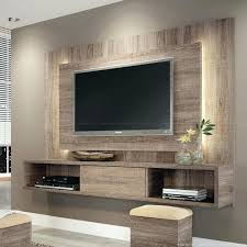 false wall for tv floating stand white wall with led lighting home decor entertainment center shelves false wall