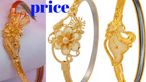 Bracelet Noa Design Latest Gold Noa Design With Weight And Price Gold Bangles