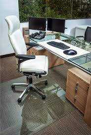 computer chair seat cushion. Accessories Incredible Rectangle Transparent Glass Computer Chair Mat Stainless Steel Desk Legs Leather Seat Cushion N