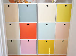 diy cube nursery closet storage organizer