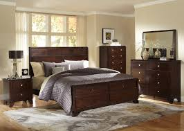 Tamryn Dark Brown Bedroom Set