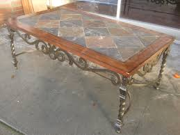 removing tile from table top tile table top makeover slate tile coffee table tile table top ideas