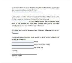30 day notice to move out letter move out letter to landlord sample tenant move out notice
