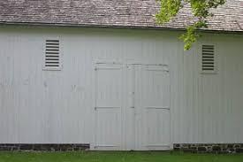 hinged barn doors. Kinda Hard To See The Hinges On Boat House At Washington\u0027s Crossing, PA. Doors Are 18\u0027 High And 5\u0027 Long. We Made In \u002776. Hinged Barn