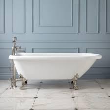 stunning acrylic clawfoot tub 70 hoyt acrylic clawfoot tub lion paw feet bathroom