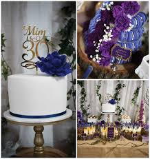 Karas Party Ideas Rustic Glam 30th Birthday Party Dessert Table