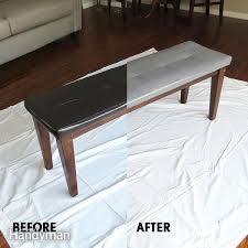 how to paint leather furniture diy