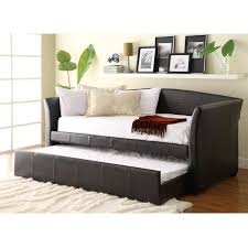 Yadira Brown Daybed w Trundle