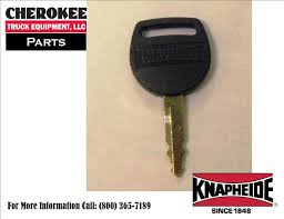 knapheide 12245858 key code 0006 replacement key for std service latches