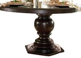paula deen home round pedestal table side